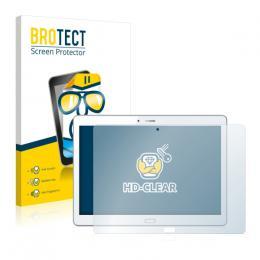 2x BROTECTHD-Clear Screen Protector Huawei MediaPad M2 10