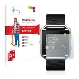 3x Vikuiti MySafeDisplay Screen Protector Fitbit Blaze