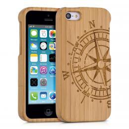 Pouzdro pro Apple iPhone 5C bambus