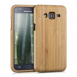 Pouzdro pro Samsung Galaxy J5 (2015) bambus