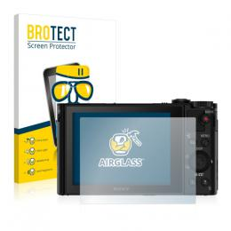 AirGlass Premium Glass Screen Protector Sony Cyber-shot DSC-HX90