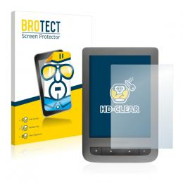 2x BROTECTHD-Clear Screen Protector PocketBook Touch Lux 3