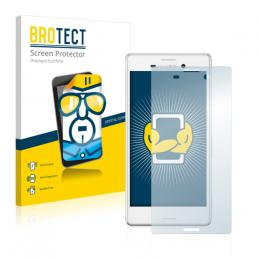 2x BROTECTHD-Clear Screen Protector Sony Xperia M4 Aqua