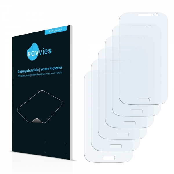 6x SU75 UltraClear Screen Protector Samsung Grand Neo i9060