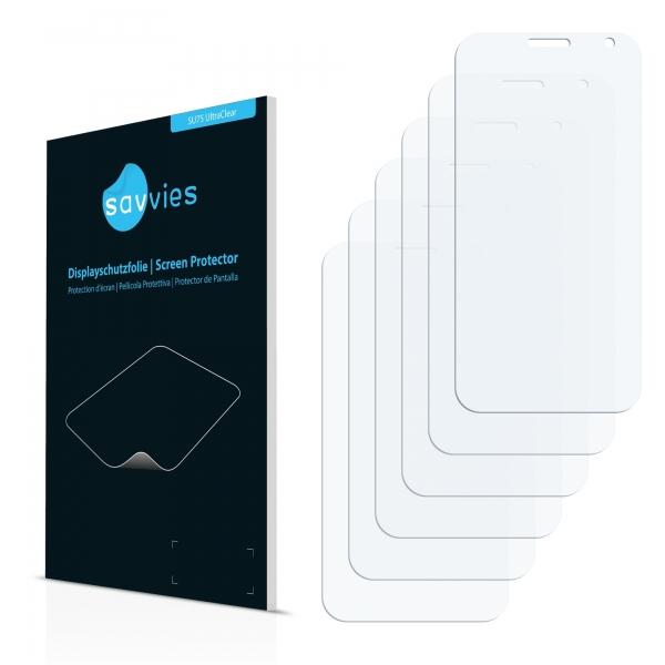 6x SU75 UltraClear Screen Protector Vodafone Smart 4
