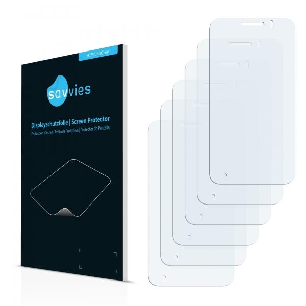 6x SU75 UltraClear Screen Protector Vodafone Smart 4 mini