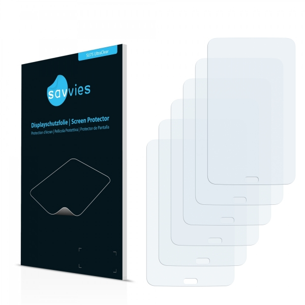 6x SU75 UltraClear Screen Protector Samsung Galaxy Tab 3 Lite SM-T110