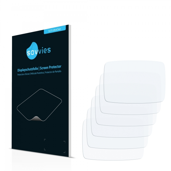 6x SU75 UltraClear Screen Protector TomTom Rider 40