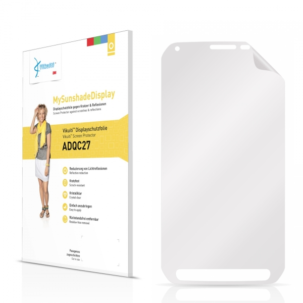 Vikuiti MySunshadeDisplay Screen Protector Samsung Galaxy S5 Active