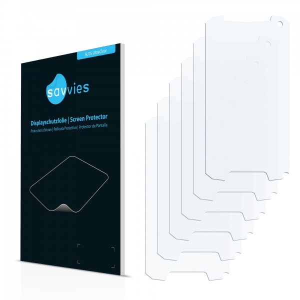 6x SU75 UltraClear Screen Protector Evolveo StrongPhone D2 Mini