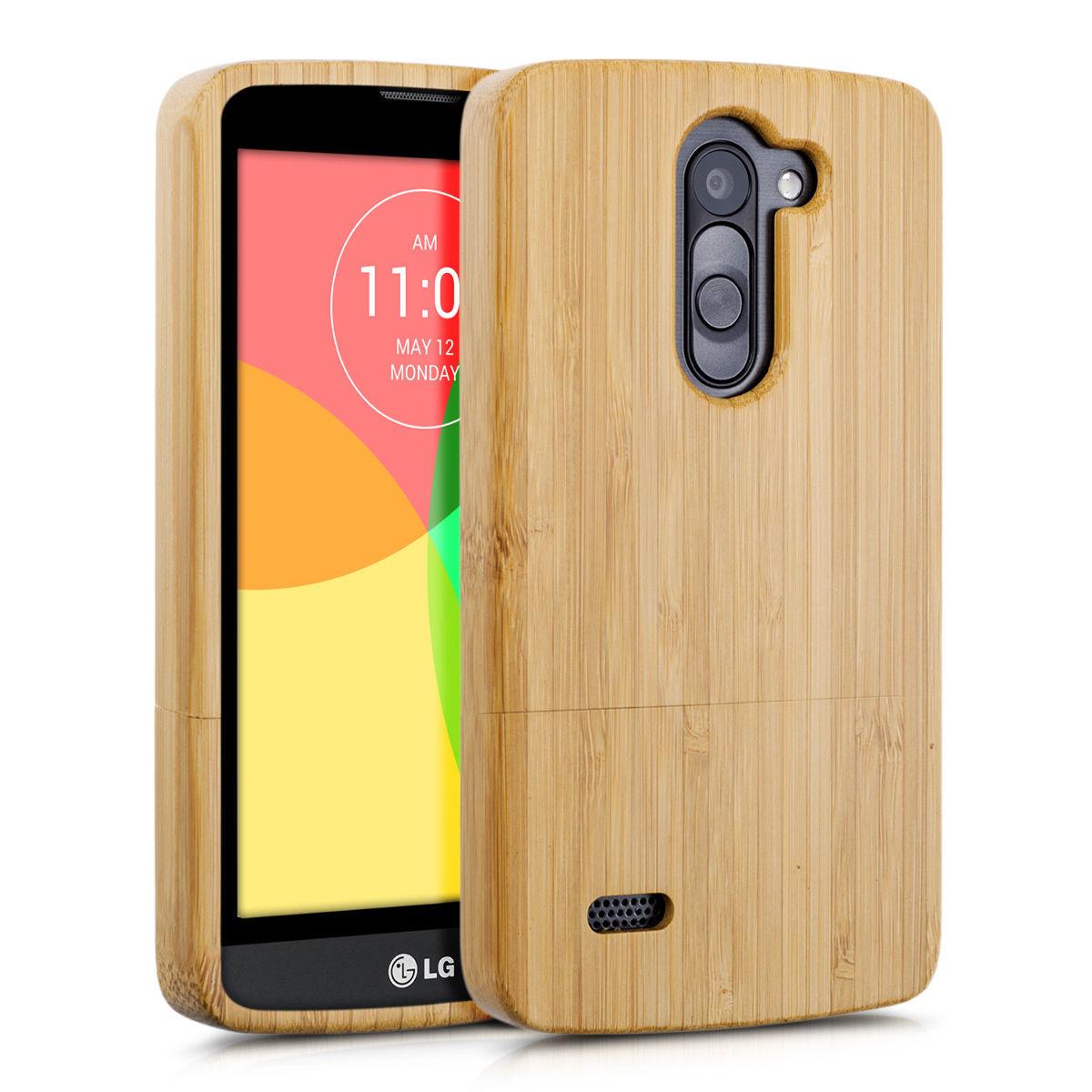 Pouzdro pro LG L BELLO bambus