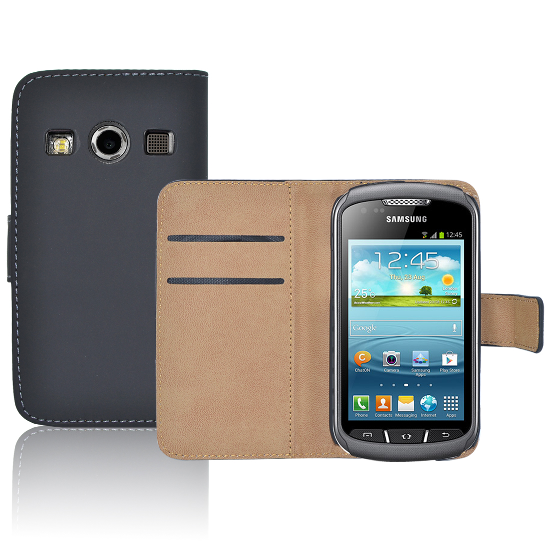 Pouzdro pro Samsung Galaxy Xcover 2 S7710 černé