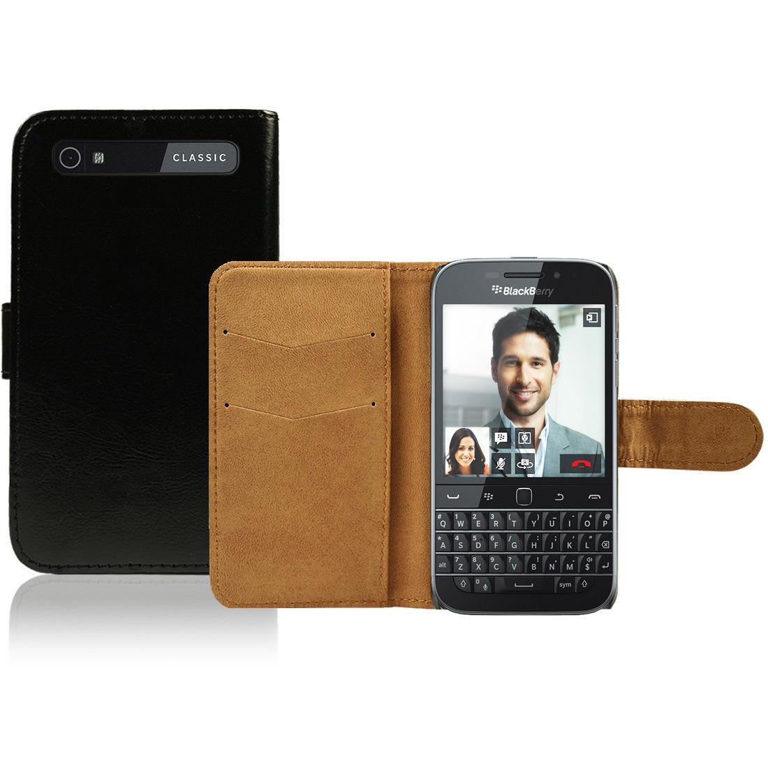 Pouzdro pro Blackberry Q20 Classic černé