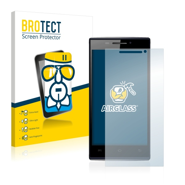 AirGlass Premium Glass Screen Protector Doogee Turbo F1 Mini