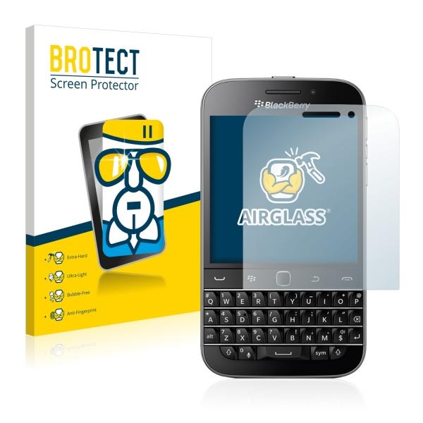 AirGlass Premium Glass Screen Protector Blackberry Classic Q20