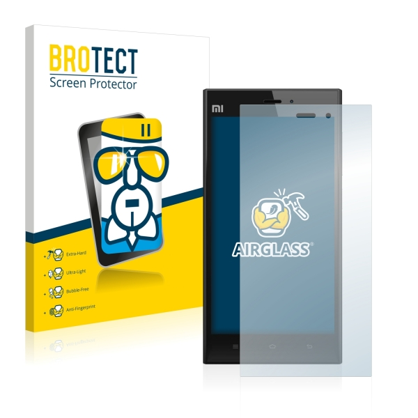AirGlass Premium Glass Screen Protector Xiaomi Mi3
