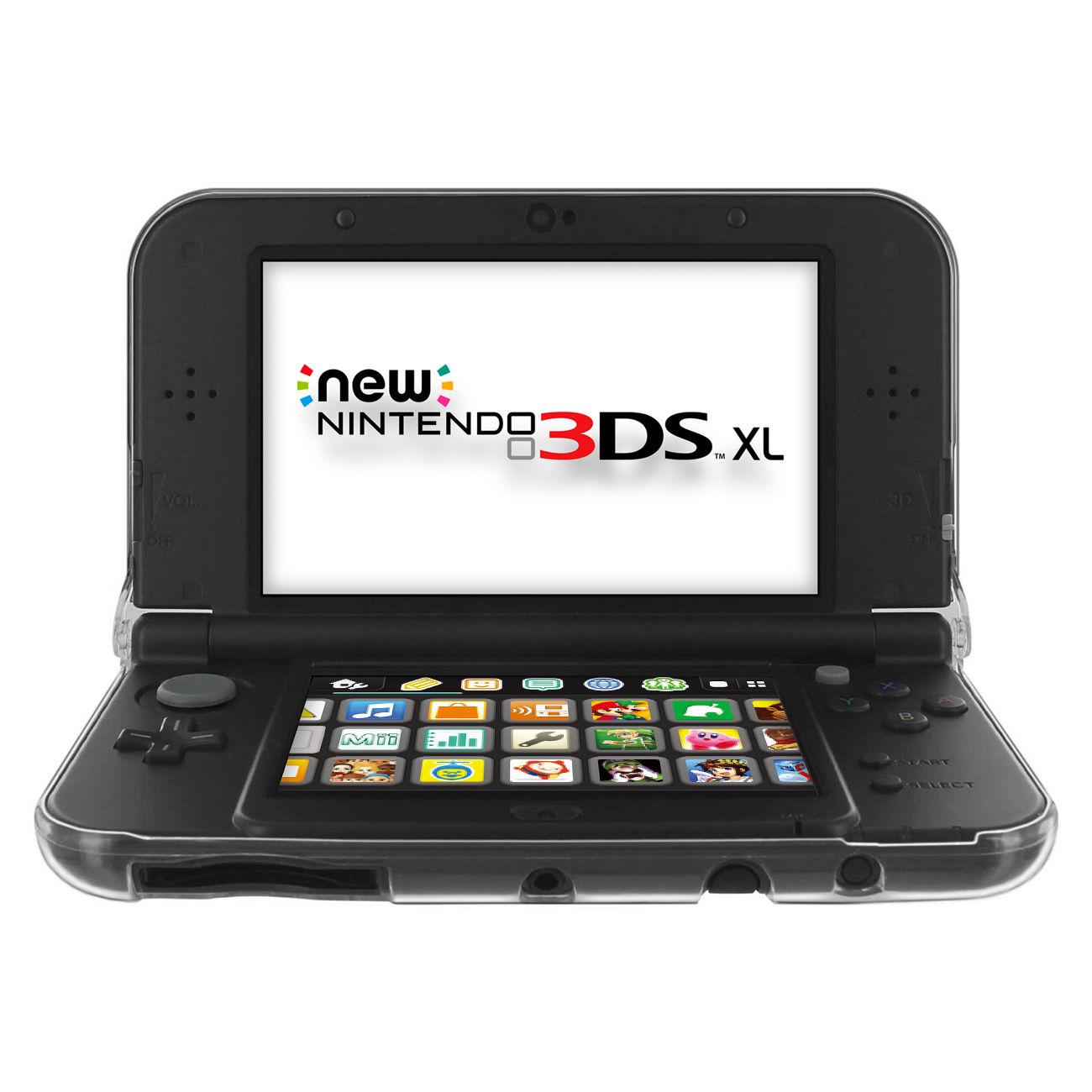 Pouzdro pro Nintendo New 3DS XL průhledné