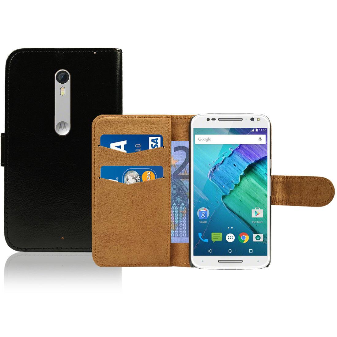 Pouzdro pro Motorola Moto X Style černé