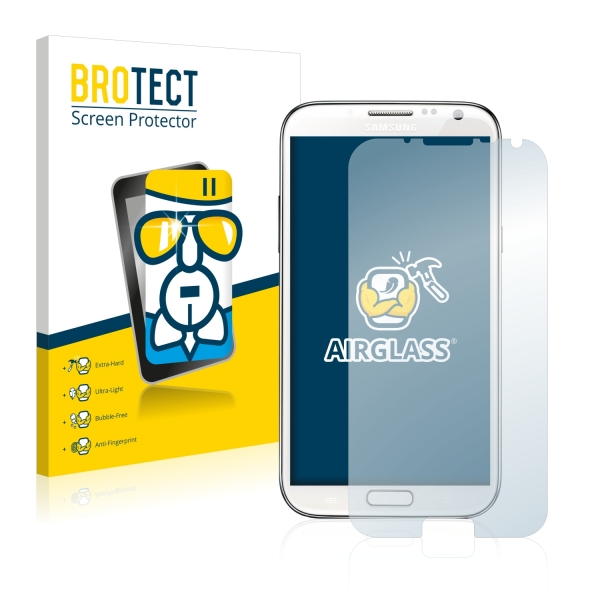 AirGlass Premium Glass Screen Protector Samsung Galaxy Note 2 II N7100