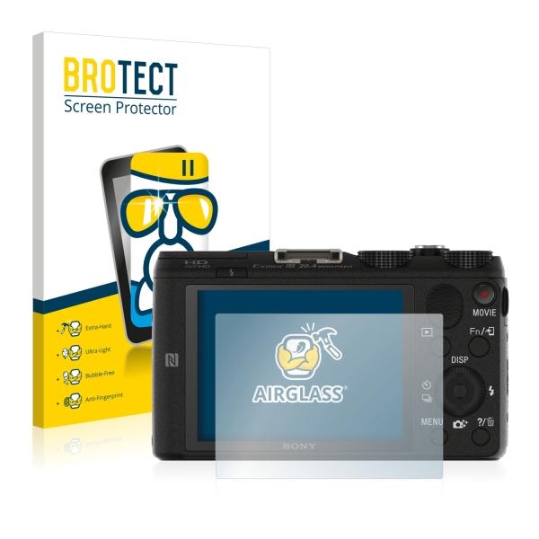 AirGlass Premium Glass Screen Protector Sony Cyber-shot DSC-HX60