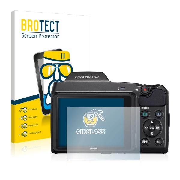 AirGlass Premium Glass Screen Protector Nikon Coolpix L840