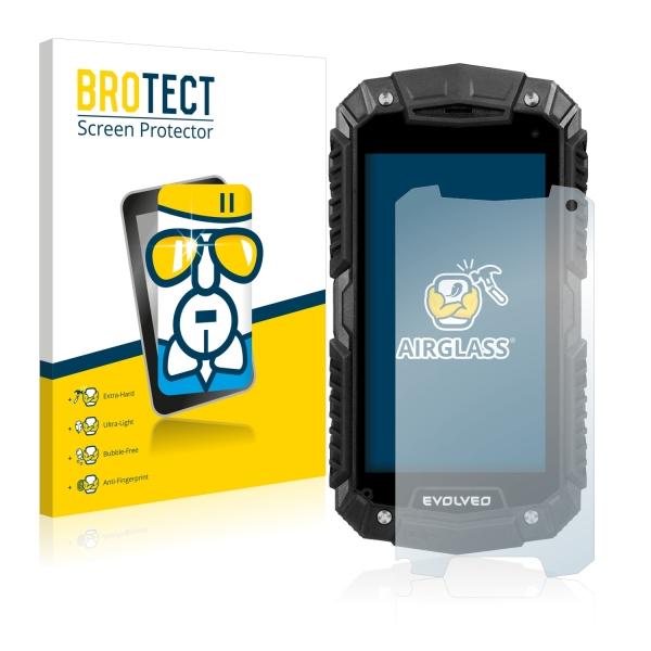 AirGlass Premium Glass Screen Protector Evolveo StrongPhone D2 Mini