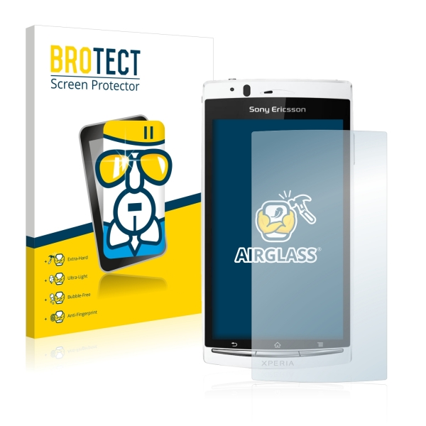 AirGlass Premium Glass Screen Protector Sony Ericsson Xperia Arc S LT18i