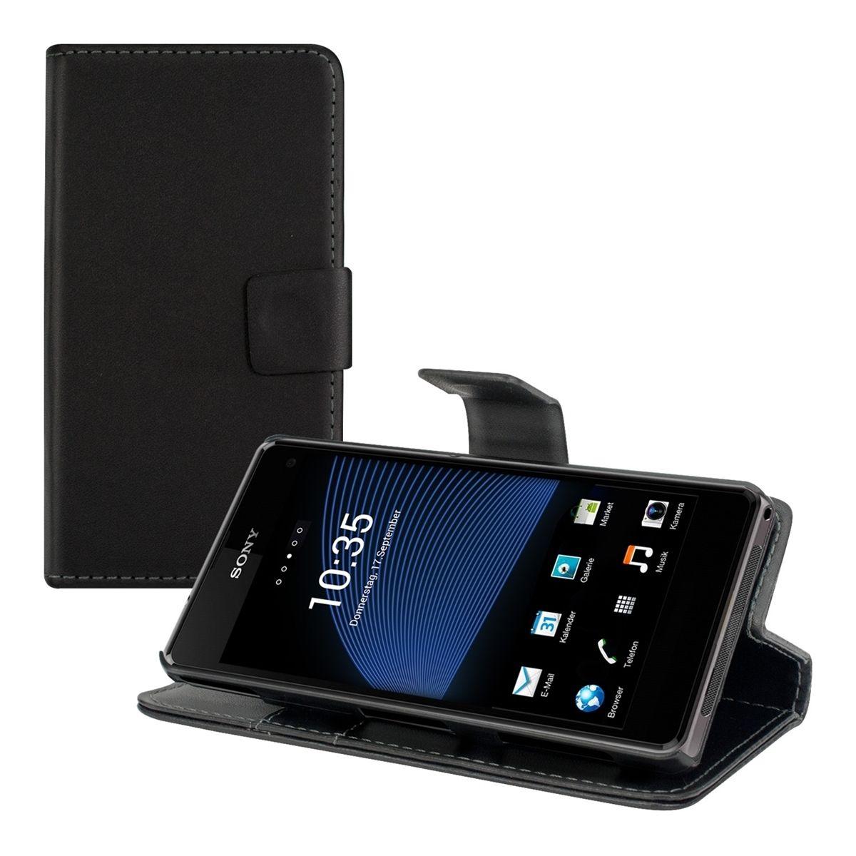 Pouzdro pro Sony Xperia Z1 Compact černé