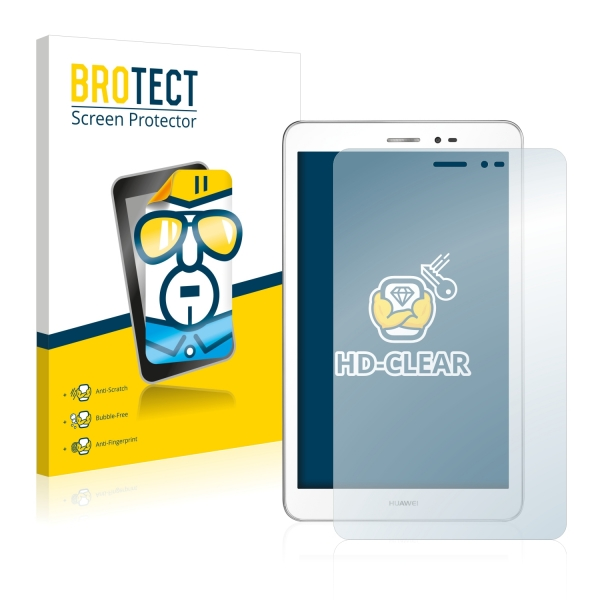 2x BROTECTHD-Clear Screen Protector Huawei MediaPad T1 8.0