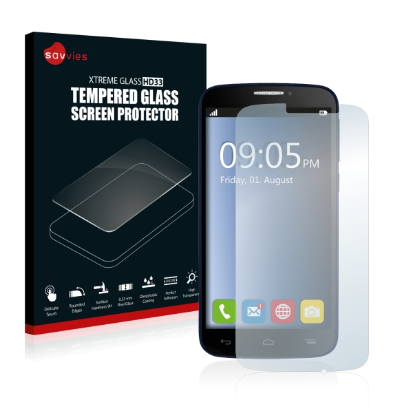 Tvrzená fólie Tempered Glass HD33 Alcatel One Touch Pop C7