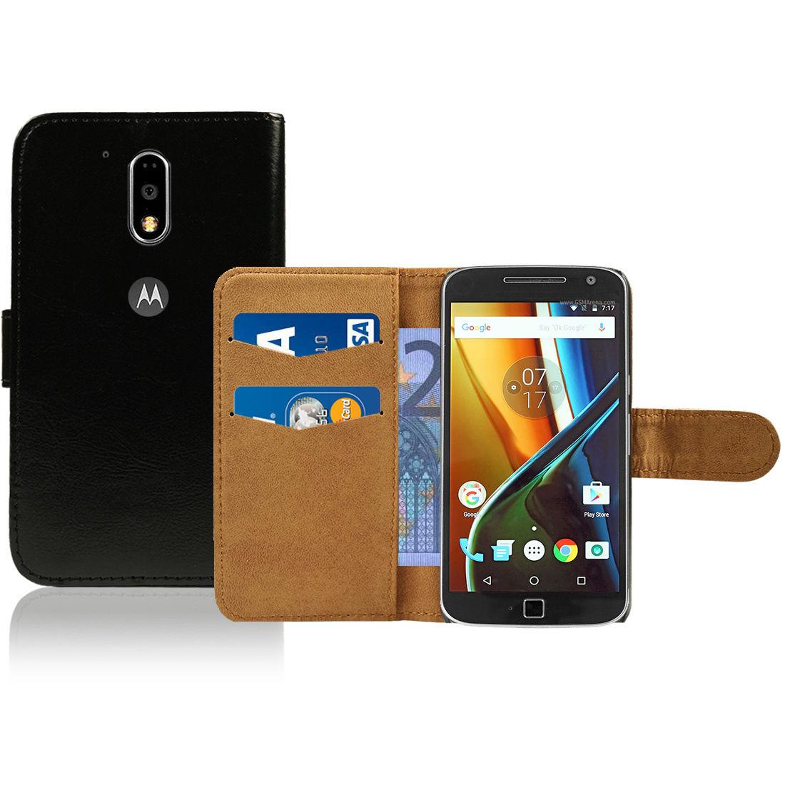 Pouzdro pro Motorola Moto G4 černé