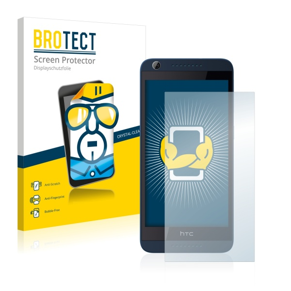2x BROTECTHD-Clear Screen Protector HTC Desire 626G Dual