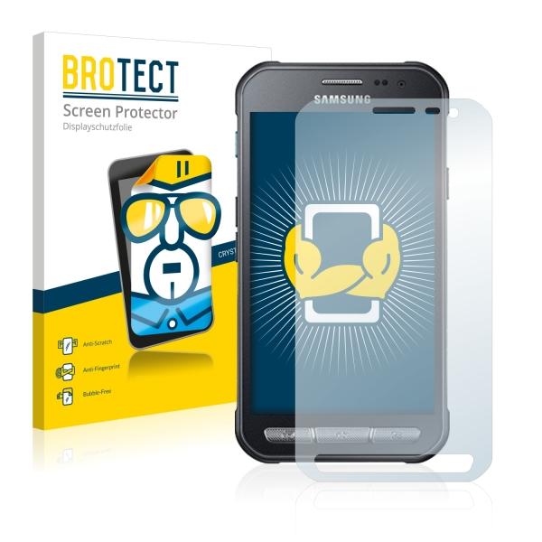 2x BROTECTHD-Clear Screen Protector Samsung Galaxy Xcover 3