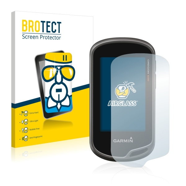 AirGlass Premium Glass Screen Protector Garmin Oregon 600
