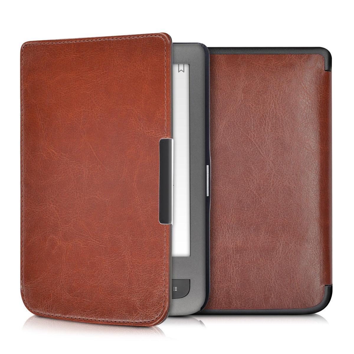 Pouzdro pro PocketBook Touch Lux 3 / 2 hnědé