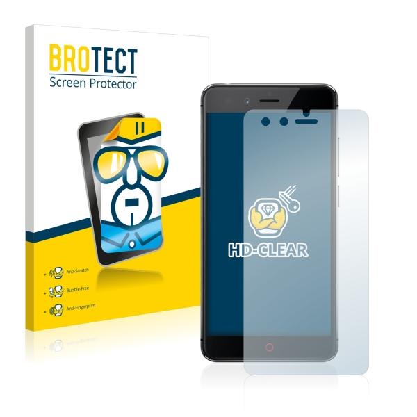 2x BROTECTHD-Clear Screen Protector ZTE Nubia Z11 Mini