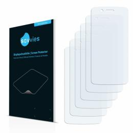 6x SU75 UltraClear Screen Protector Prestigio Multiphone 8500