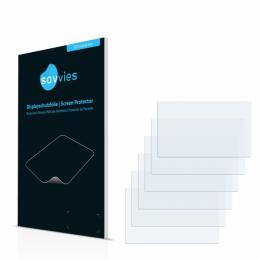6x SU75 UltraClear Screen Protector Renault Clio IV R-Link (2014)
