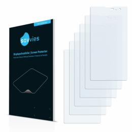 6x SU75 UltraClear Screen Protector Kazam Tornado 2 (5.5)