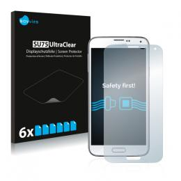 6x SU75 UltraClear Screen Protector Samsung Galaxy S5 Neo