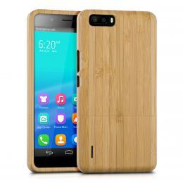 Pouzdro pro Honor 6 Plus bambus