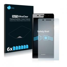 6x SU75 UltraClear Screen Protector Huawei Ascend P6