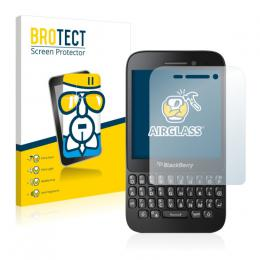 AirGlass Premium Glass Screen Protector BlackBerry Q5