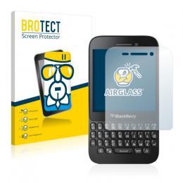 AirGlass Premium Glass Screen Protector BlackBerry Q5