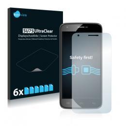 6x SU75 UltraClear Screen Protector Doogee Valencia 2 Y100 Pro