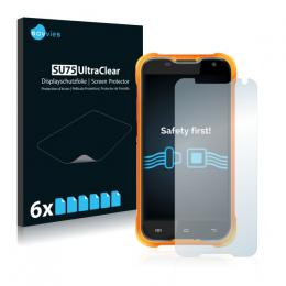6x SU75 UltraClear Screen Protector Blackview BV5000