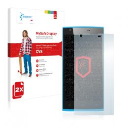 2x Vikuiti MySafeDisplay Screen Protector Zopo ZP780
