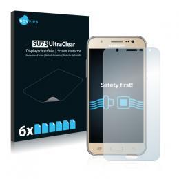6x SU75 UltraClear Screen Protector Samsung Galaxy J7 (2016)