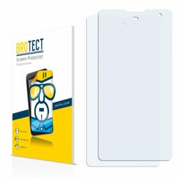 2x BROTECTHD-Clear Screen Protector ZTE Nubia Z7 Max
