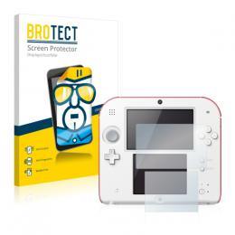 2x BROTECTHD-Clear Screen Protector Nintendo 2DS